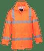 Hi-Vis Rain Jacket, Orange