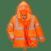 Hi-Vis 4in1 Jacket, Orange