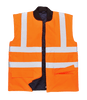 Hi-Vis Bodywarmer, Orange