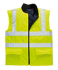 Hi-Vis Bodywarmer, Yellow
