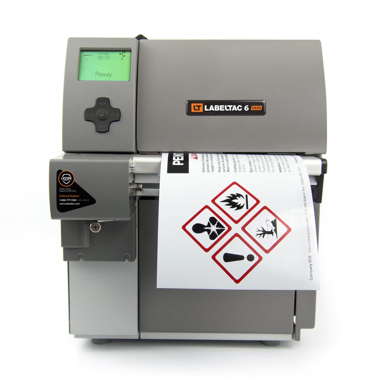 Color printer label - Ghs Label Printer