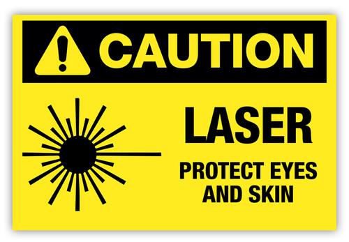 Caution - Laser Label