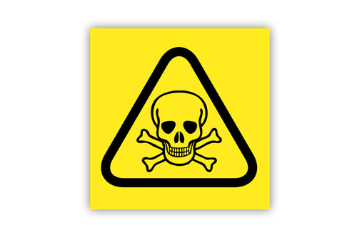 Toxic Triangle Label