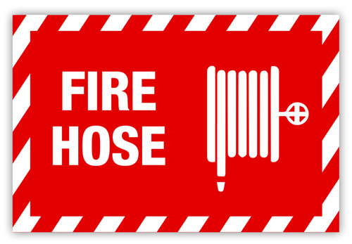 Fire Hose (Horizontal) Label