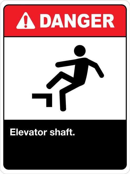 Danger Elevator Shaft