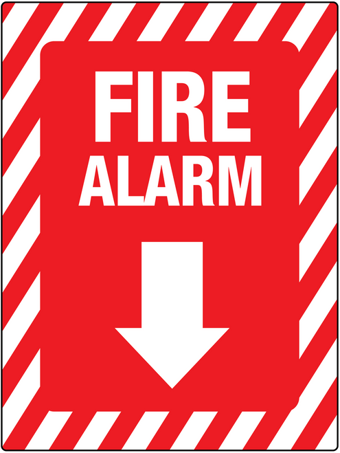 Fire Alarm Below