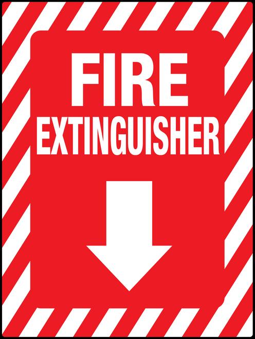 Fire Extinguisher Below