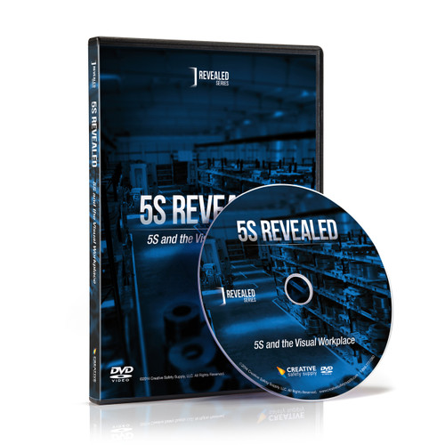 5S Revealed - 5S And The Visual Workplace DVD