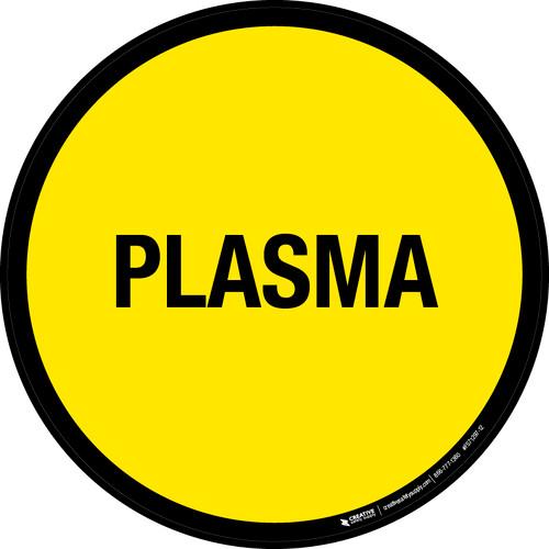 Plasma Floor Sign