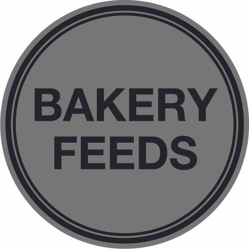 Bakery Feeds Floor Sign