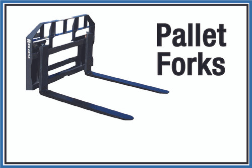 "Wall Sign: (United Rentals Logo) Pallet Forks - 12""x18"" (Peel-and-Stick Permanent Adhesive)"