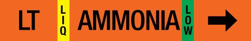 Ammonia Label - Liquid Transfer