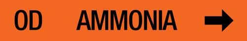 Ammonia Label - Oil Drain