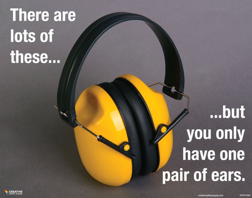 Noise Hazards Poster