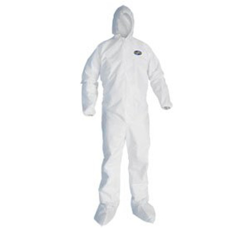 KleenGuard A30 - Coverall with hood and boots