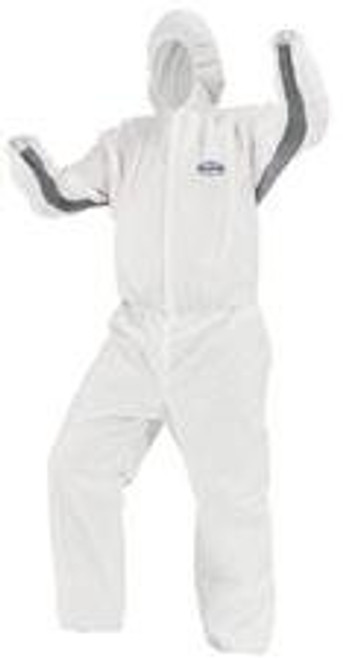 KleenGuard A30 - Coverall with hood, stretch panels, elastic wrists and ankles