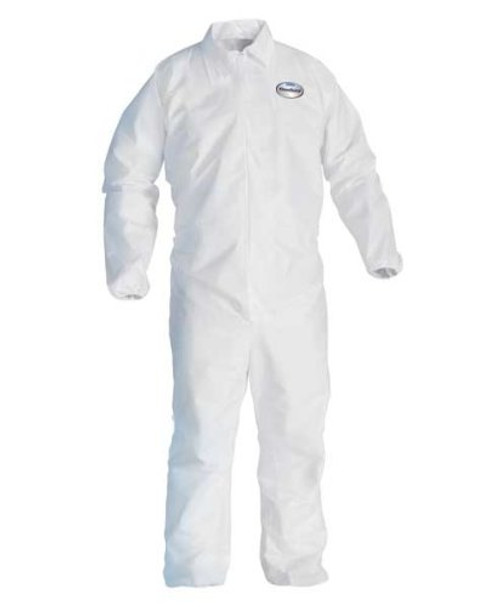 Kleenguard A40 - Coverall with zipper front and elastic wrists and and ankles