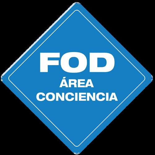 FOD Área Conciencia (FOD Awareness Area) - Floor Sign