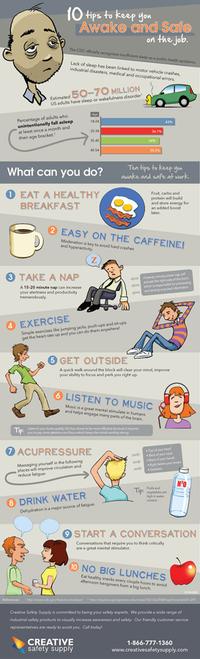 Stay Awake at Work poster