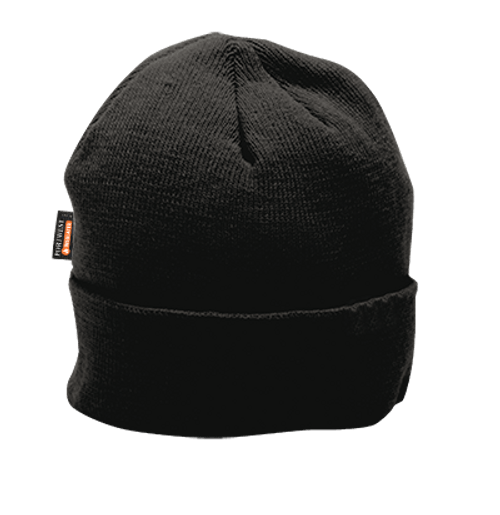 Insulated Knit Cap, Black