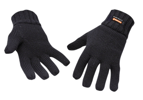 Knit Glove Thinsulate Lined