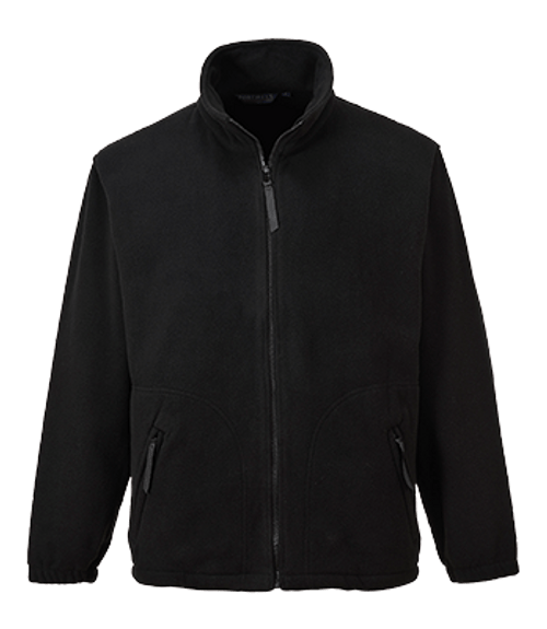 Argyll Heavy Fleece, Black