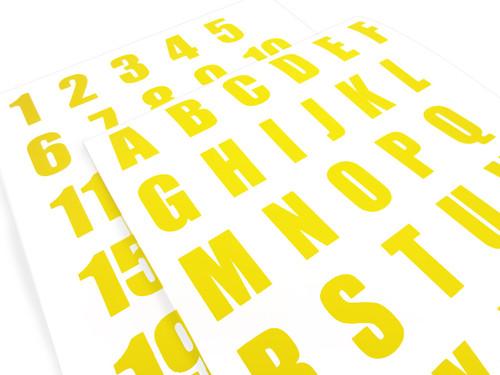 Smart Stripe Letters/Numbers