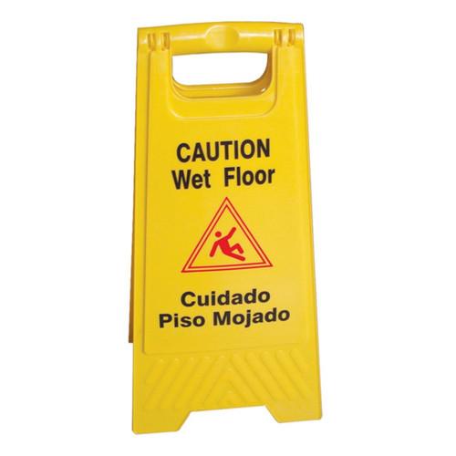 Wet Floor Caution Sign English / Spanish