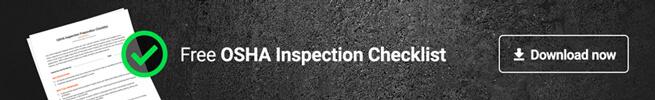 Free OSHA Inspection Checklist