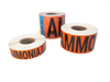 Ammonia Pipe Marking Labels