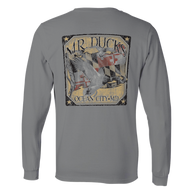 M.R. Ducks® Quartz Mallard Long Sleeve Tee