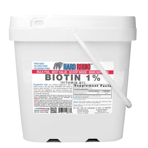 BULK Biotin 1% Vitamin B7 Powder