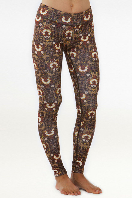 Patterned Grace Yoga Tight Leggings