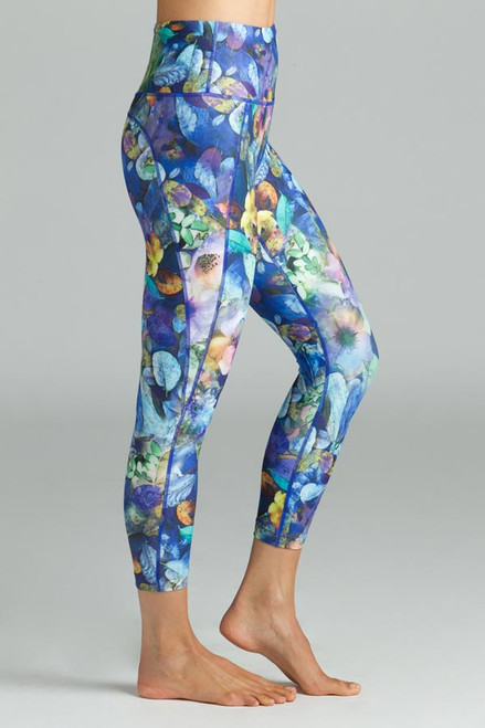 Printed High waist Yoga Capris Leggings