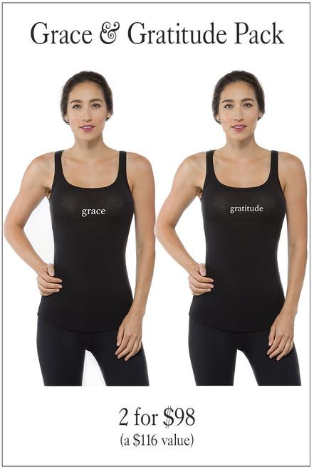 KiraGrace Graphic Yoga Tank bundle