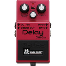 Boss DM-2W Waza Craft Analog Delay Effects Pedal