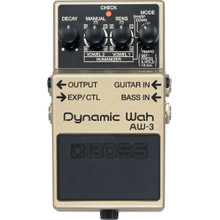 Boss AW-3 Dynamic Wah Effects Pedal