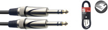 Stagg SAC3PSDL 3m Audio Cable TRS Jack to TRS Jack