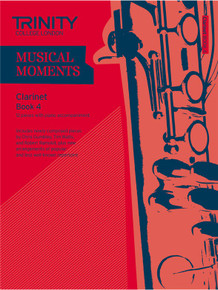 Trinity College London Musical Moments Clarinet Book 4