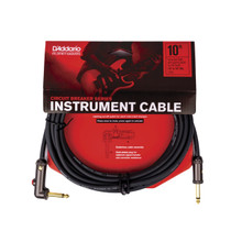 Planet Waves by D'Addario 10' Angled Circuit Breaker Cable with Latching Switch