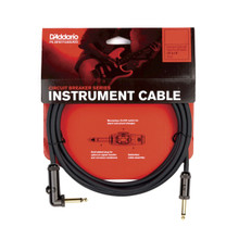 Planet Waves by D'Addario Circuit Breaker Angled Cable 10' Momentary Cut-Off
