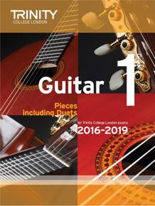 Trinity College London Guitar Exam Pieces 2016-2019 - Grade 1