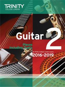 Trinity College London Guitar Exam Pieces 2016-2019 Grade 2