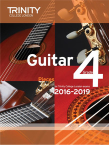 Trinity College London Guitar Exam Pieces 2016-2019 - Grade 4