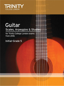 Trinity college London Guitar Scales & Exercises Initial-Grade 5