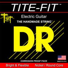 DR Strings Tite-Fit Nickel Electric Guitar Strings - .010 - .050