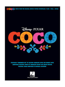 Disney Pixar's Coco for Piano Voice & Guitar