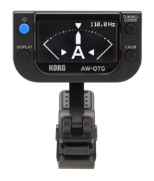 Korg AW-OTG OLED Display Clip-On Guitar Tuner