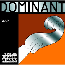 Dominant 1/2 Size Single Violin D String Synth Core Al Wound
