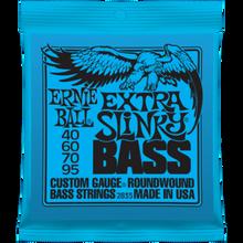 Ernie Ball Extra Slinky .040 - .095 Nickel Wound Bass Guitar Strings